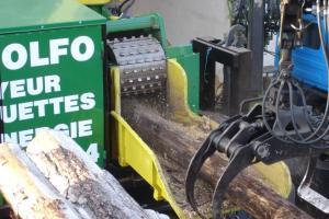 Déchiquetage bois